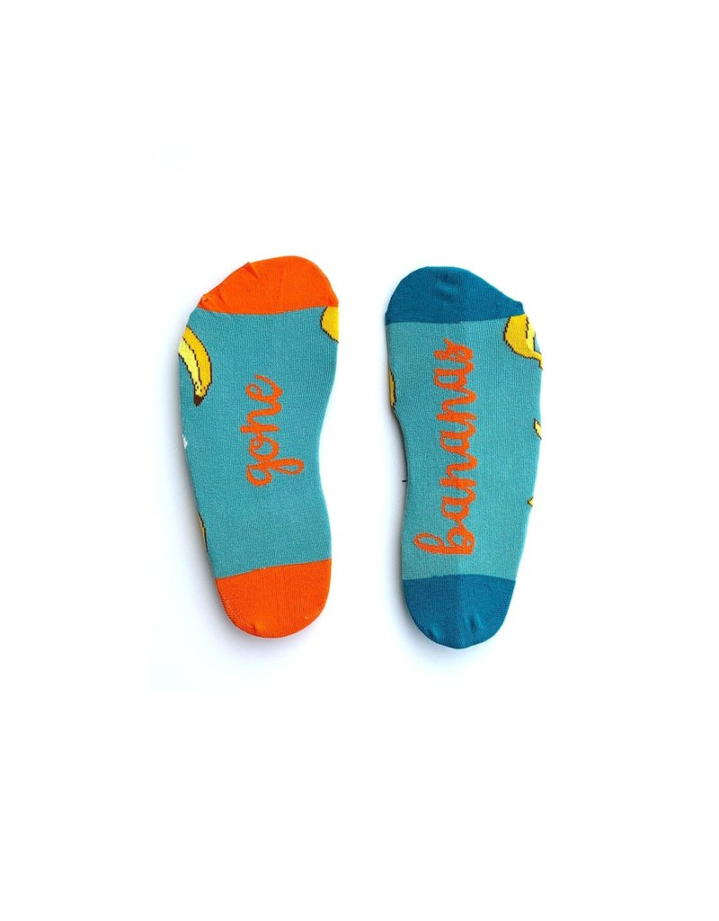 Irish Socksciety Gone Bananas Socks - Size 3-7