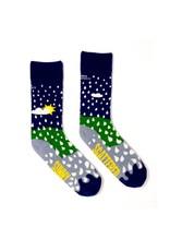 Irish Sock Society Sunny Spells, Scattered Showers Socks - Size 3-7