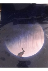 Marta Barcikowska Hare on The Moon Woods A3 Print