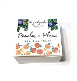 The Good Garden Peaches & Plums - Soy Wax Melts