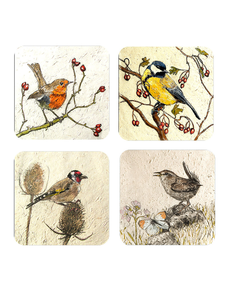 Annabel Langrish Irish Garden Birds Placemat Set