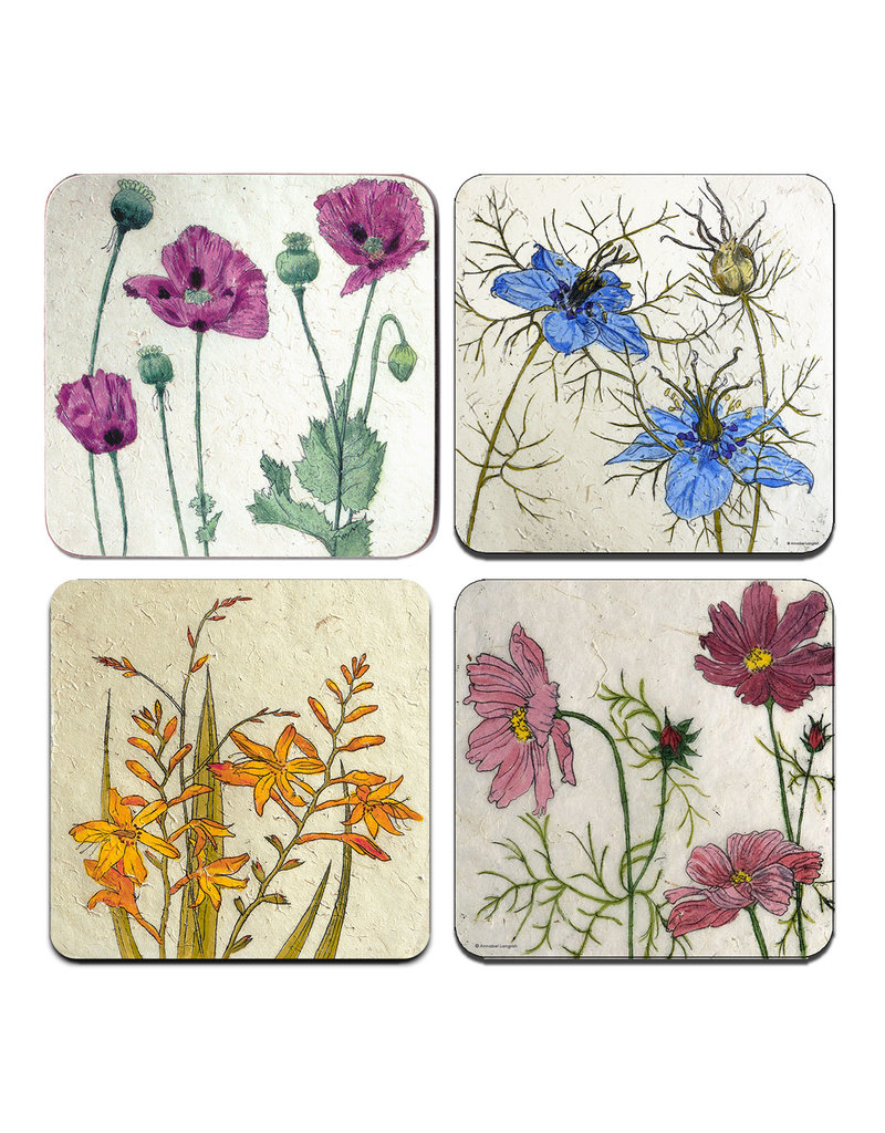 Annabel Langrish Irish Wild Flowers Placemat Set