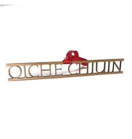 Snow Oiche Chiuin/ Silent Night Wood Decoration