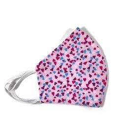 MOG Face Mask - Pink Hearts