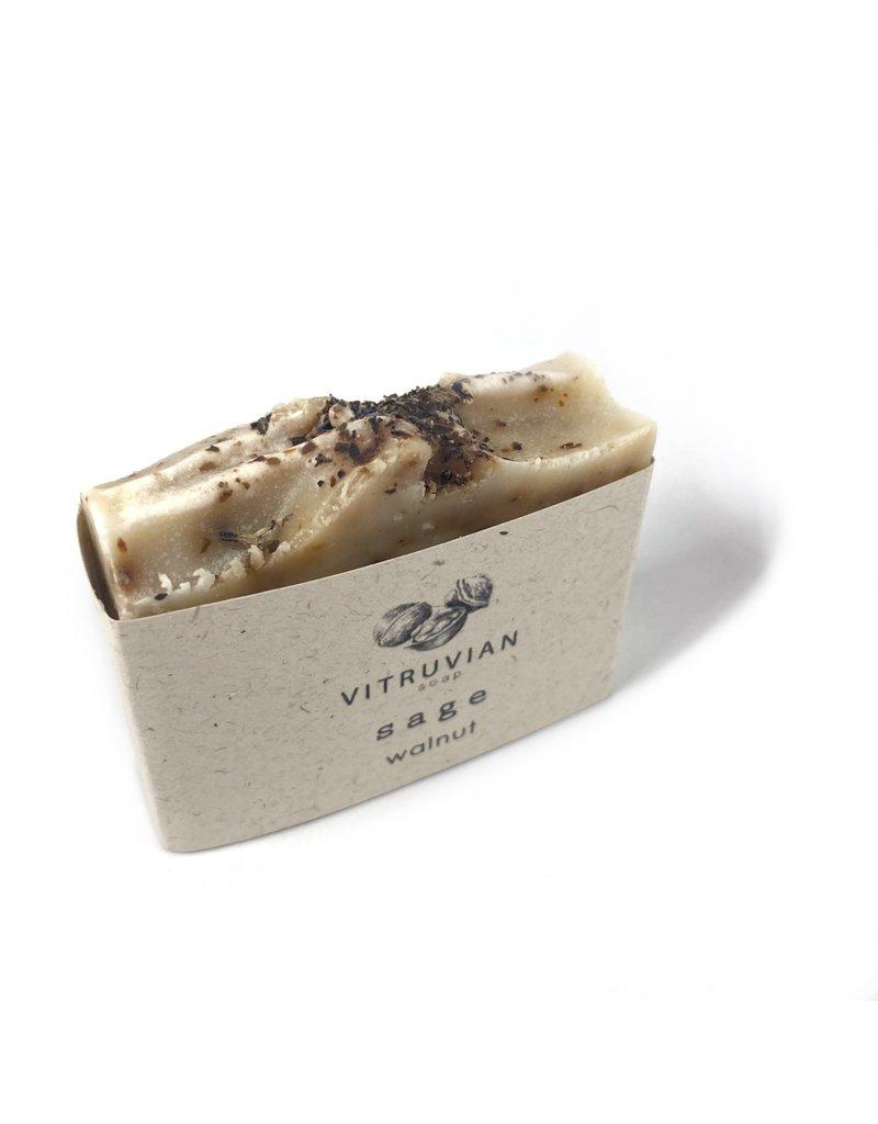 Vitruvian Soap Sage and Walnut Soap