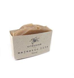 Vitruvian Soap Majestic Lily Floral Soap