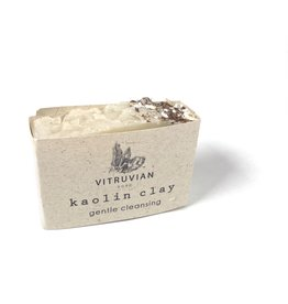 Vitruvian Soap White Kaolin Cleansing Soap