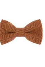 Orwell and Browne Donegal Tweed Bow Tie - Ginger Lily
