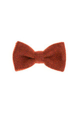 Orwell and Browne Donegal Tweed Bow Tie - Carmine