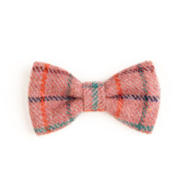 Orwell and Browne Donegal Tweed Bow Tie - Checkered Clove