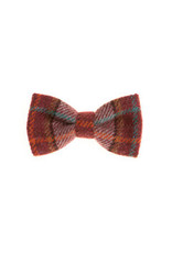 Orwell and Browne Donegal Tweed Bow Tie - Spring Foliage
