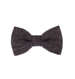 Orwell and Browne Donegal Tweed Bow Tie - Brindle