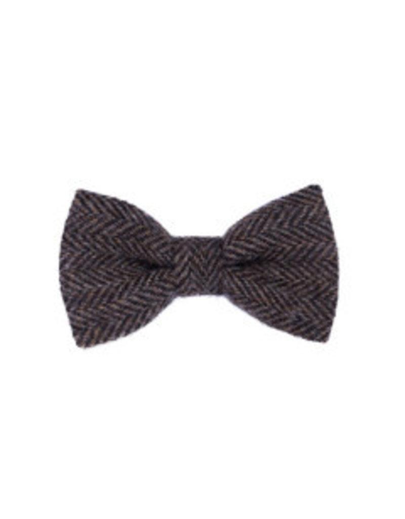 Orwell and Browne Donegal Tweed Bow Tie - Brindle