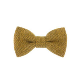 Orwell and Browne Donegal Tweed Bow Tie - Amber