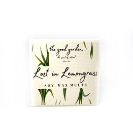The Good Garden Lost in Lemongrass - Soy Wax Melts