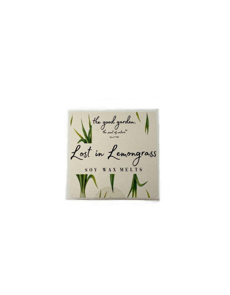 The Good Garden Lost in Lemongrass - Soy Wax Melts