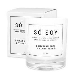 So Soy Damascan Rose & Ylang Ylang  Candle