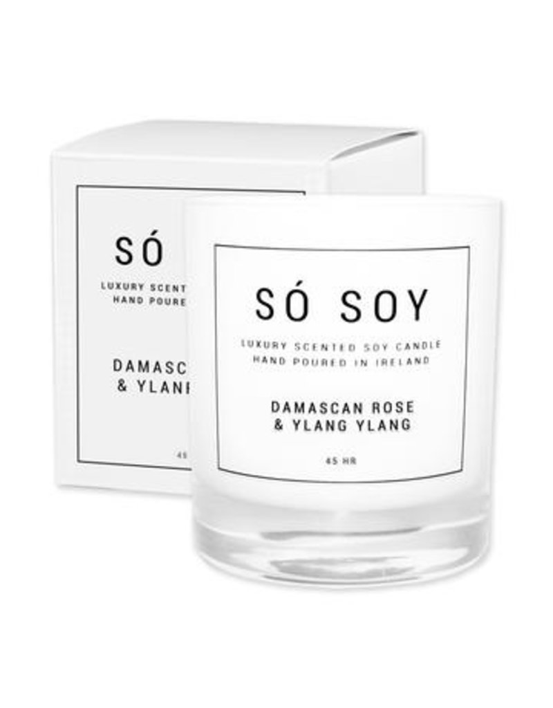 So Soy Damascan Rose & Ylang Ylang  Candle