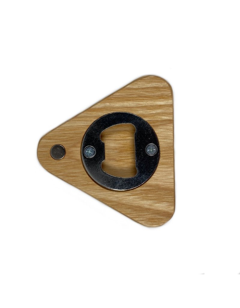 Coolree Design Magnet Bottle Opener Triangle Ash