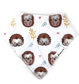 The Stork Box Hedgehog Dribble Bib