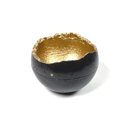 Kaiko Studio Wabi-Sabi Concrete Candleholder/Planter - Black