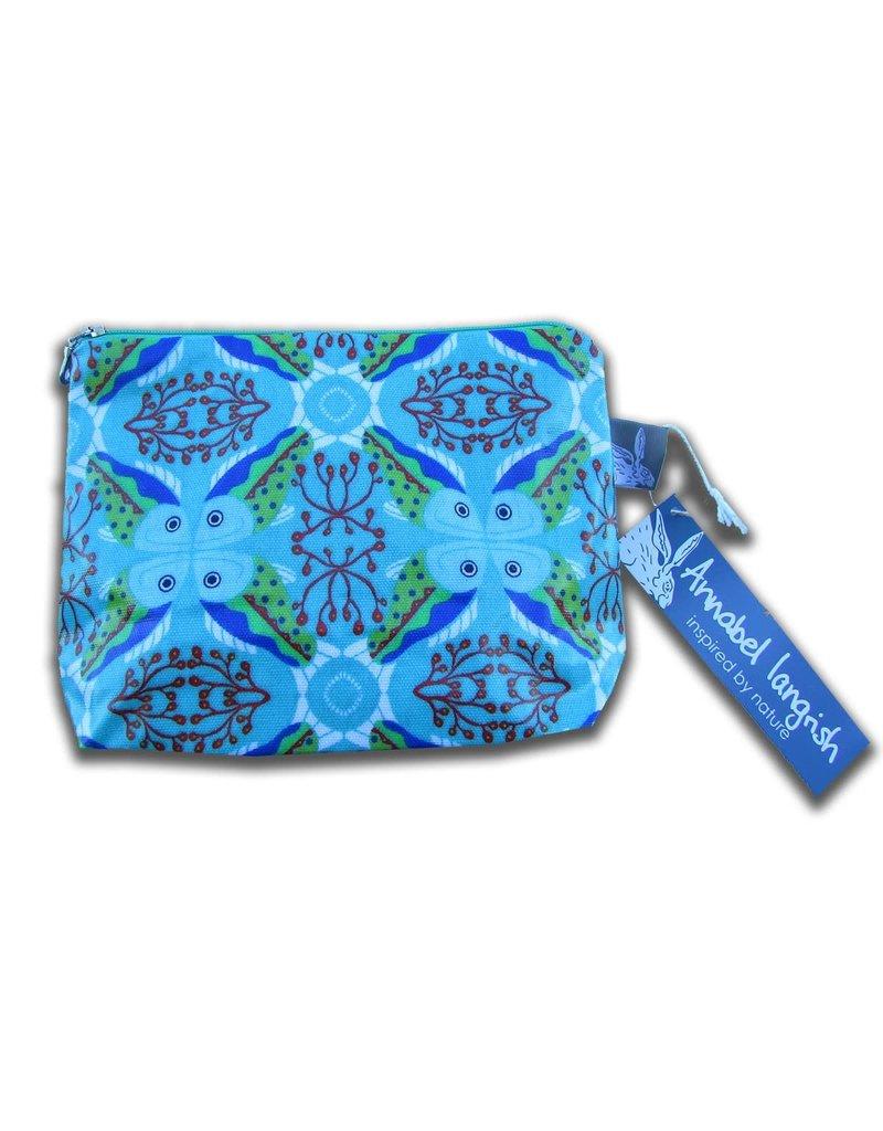 Annabel Langrish Funky Fish Cosmetic Bag