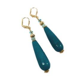 KKajoux Jewels Marigot Bay Short Drop Earrings