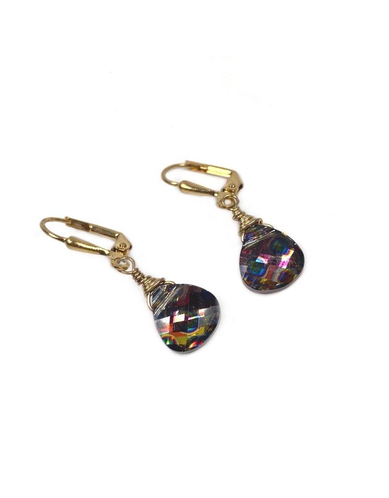 KKajoux Jewels Briolette Disco Short Drop Earrings