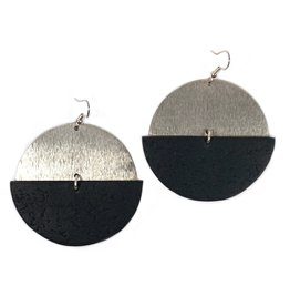Daki Daki Design Silver Cara Earrings