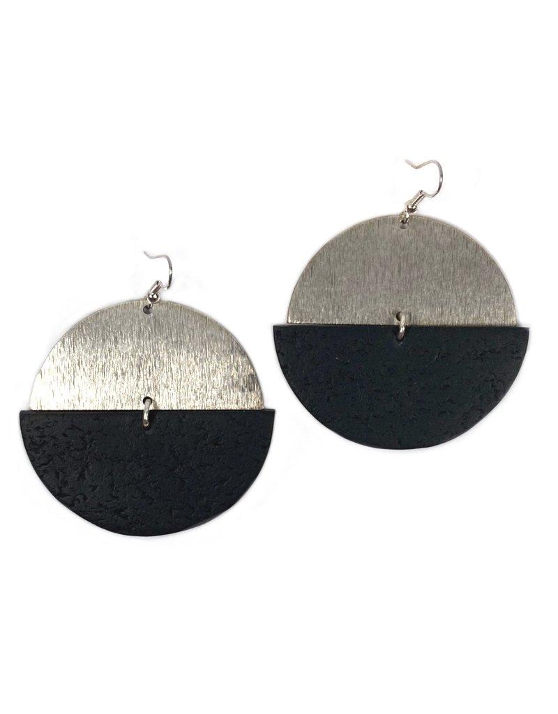 Daki Daki Design Silver Cara Earrings