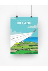 Ha'penny Design Ireland Travel A4 Print