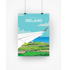 Ha'penny Design Ireland Travel A4 Print