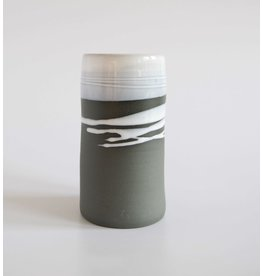 Paul Maloney Greystone Stem Vase