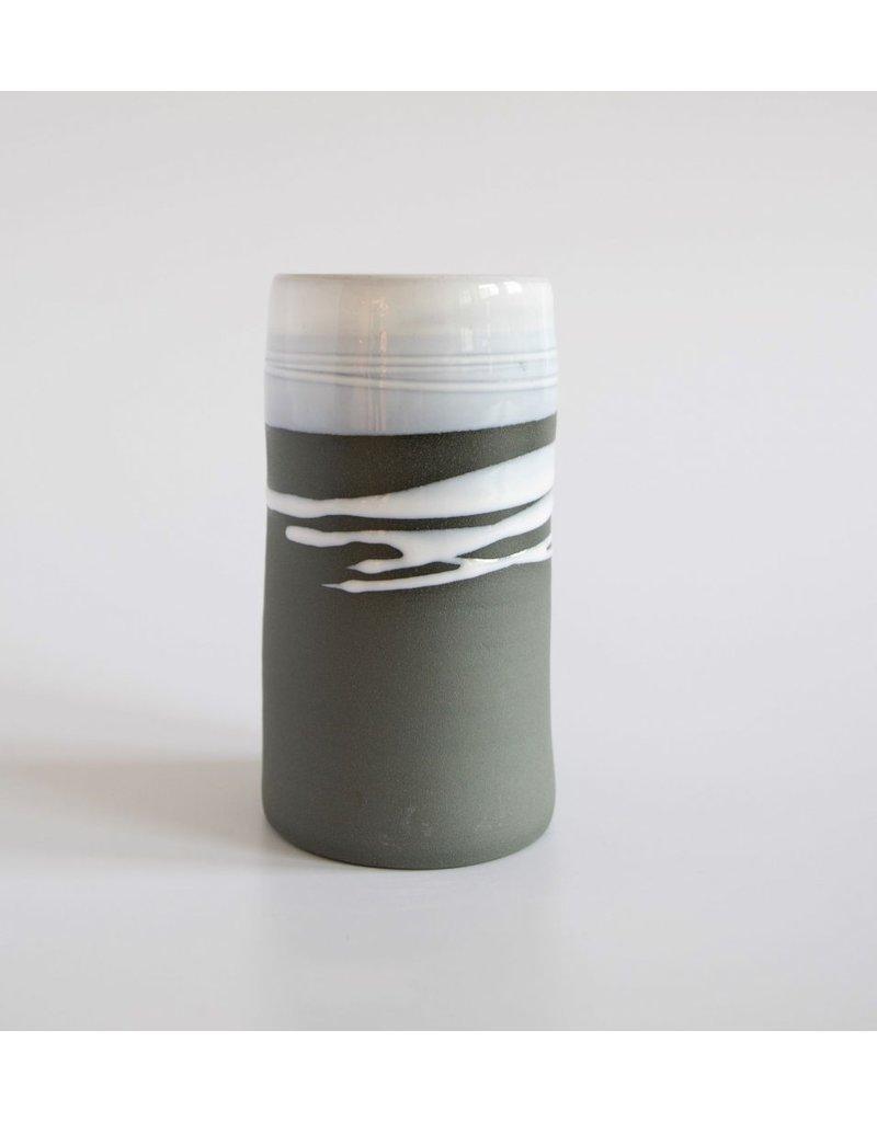 Paul Maloney Greystone Stem Vase