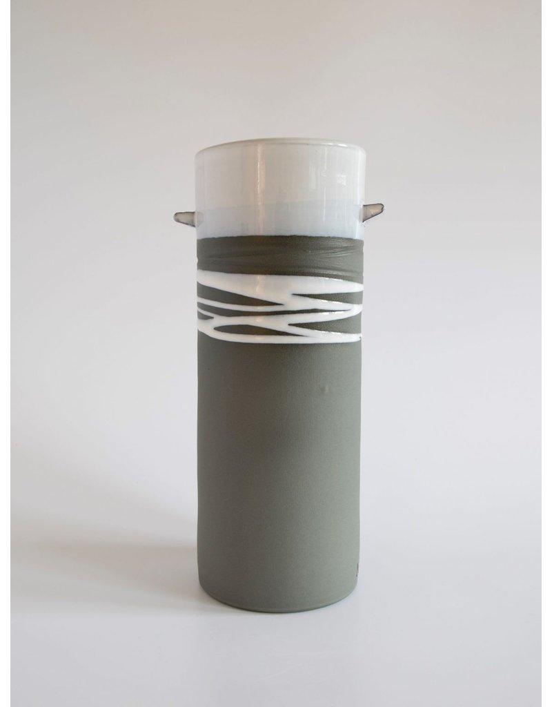 Paul Maloney Greystone Cylinder Vase Small