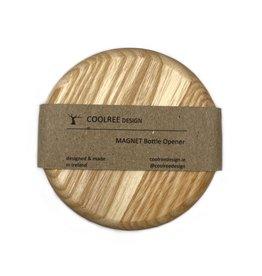 Coolree Design Magnet Bottle Opener Circle Ash