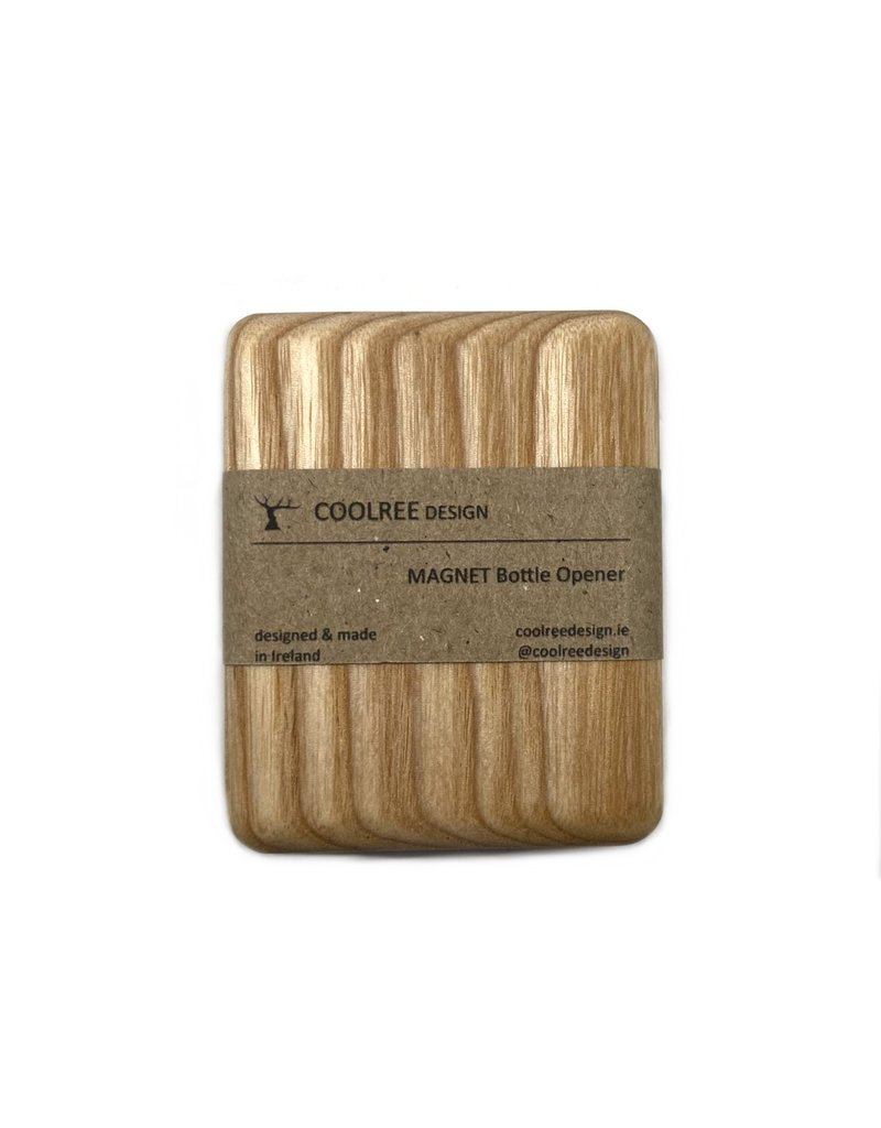 Coolree Design Magnet Bottle Opener Rectangle Ash