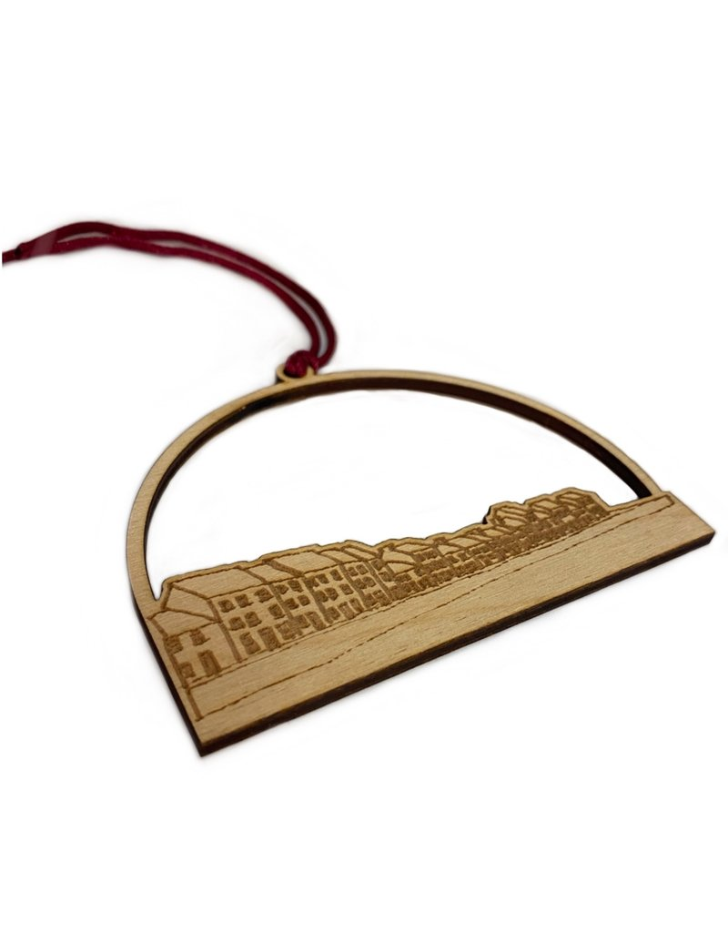 My Shop Collection The Long Walk  Wooden Decoration