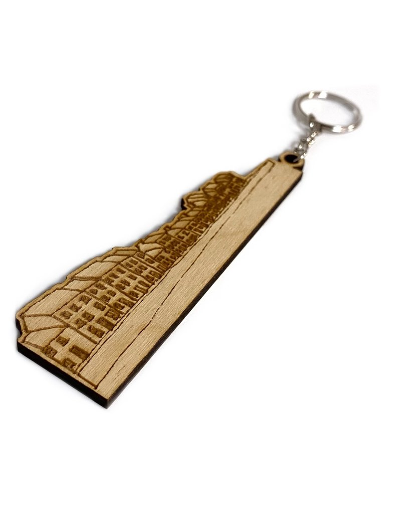 My Shop Collection The Long Walk Wooden Keyring