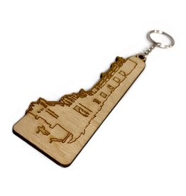 My Shop Collection Blackrock Diving Board Wooden Keyring