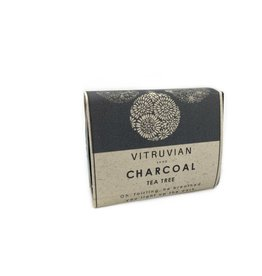Vitruvian Soap Charcoal and Tea Tree Soap