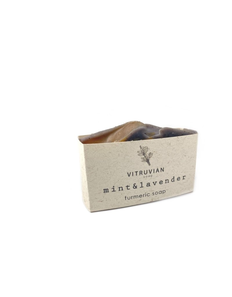 Vitruvian Soap Lavender and Mint Soap