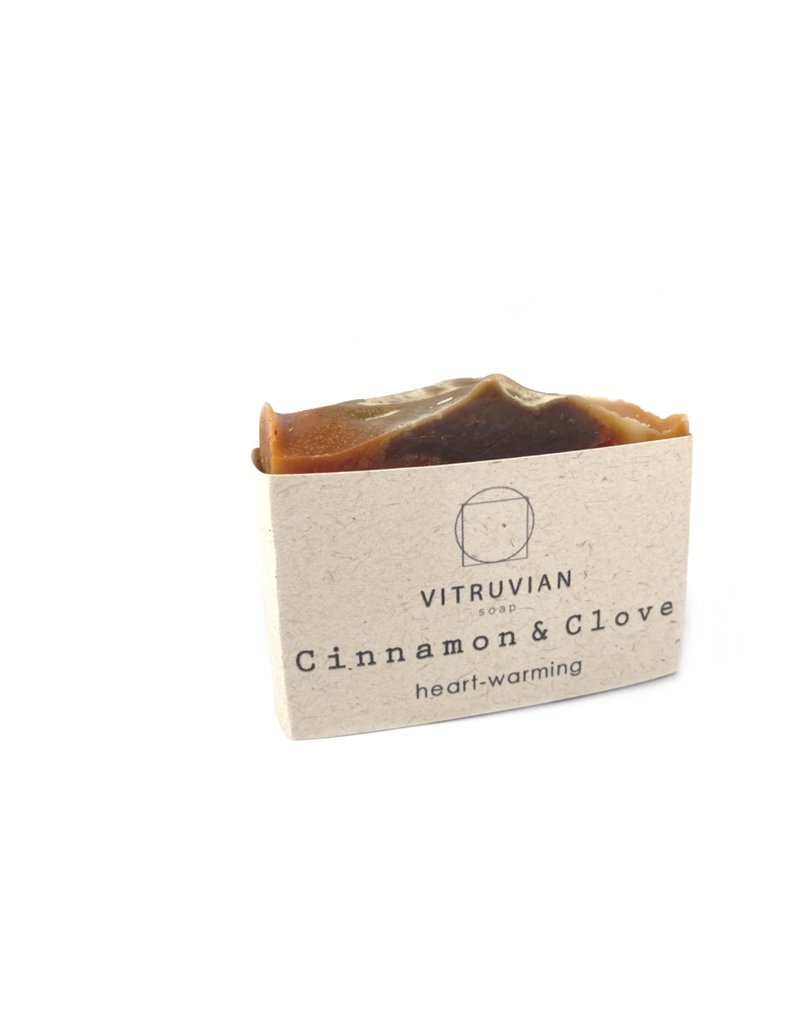Vitruvian Soap Cinnamon and Clove Soap