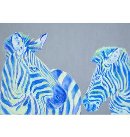 "Lorraine Fletcher ""Mom Knows Best"" Framed Zebra Print"