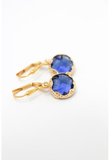 KKajoux Jewels Mini Zante Blue Short Earrings