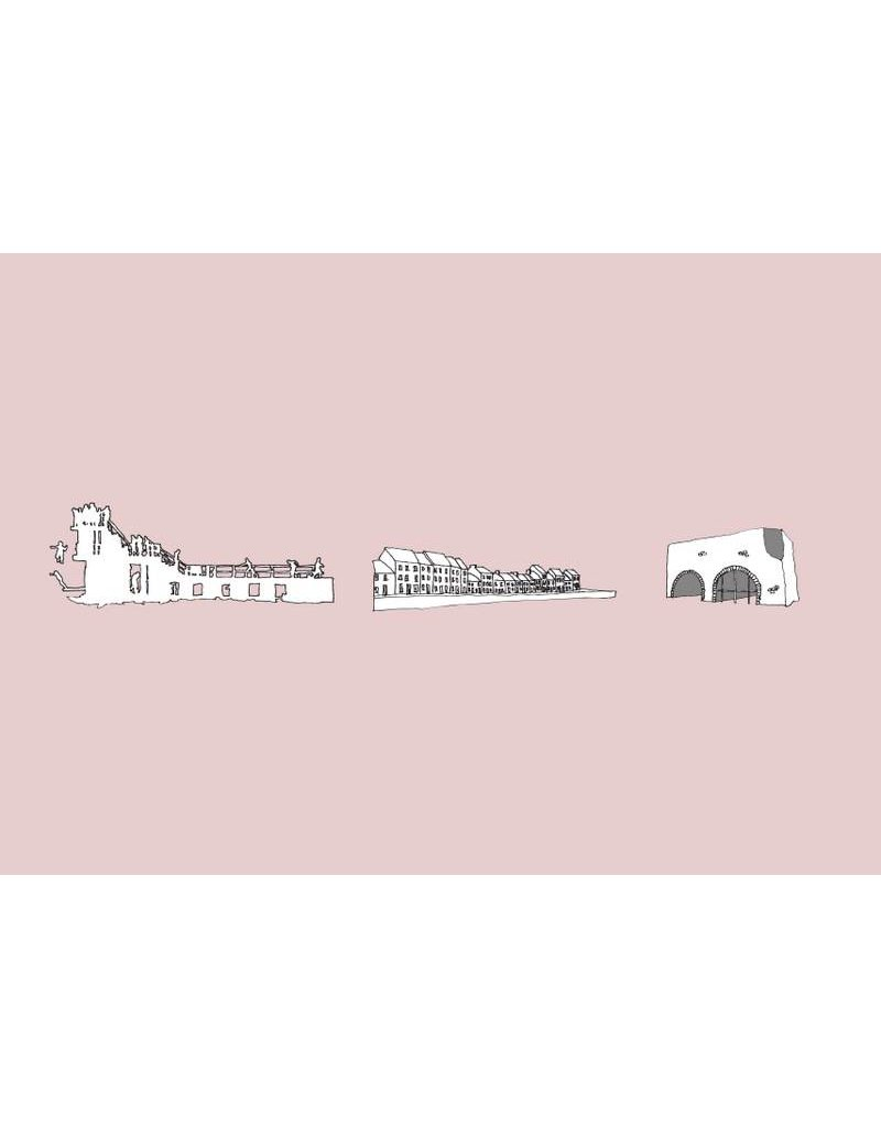 My Shop Collection Galway Icons A3 Print - Pink