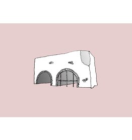 My Shop Collection Spanish Arch A3 Print- Pink