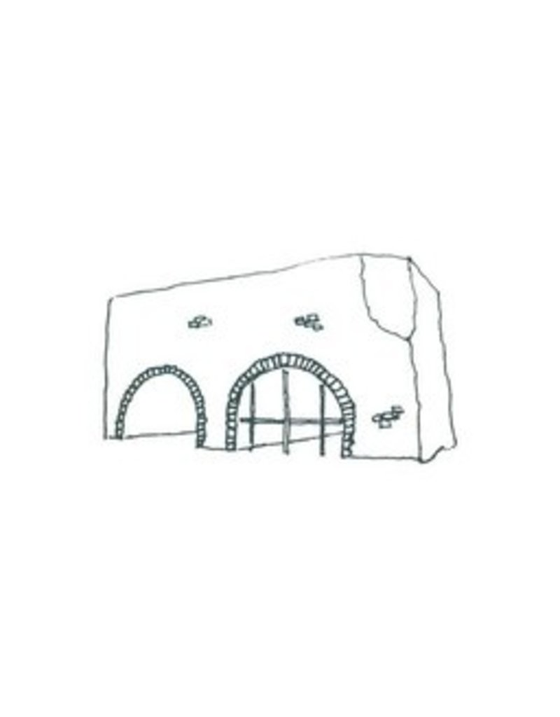 My Shop Collection Spanish Arch A4 Print- White