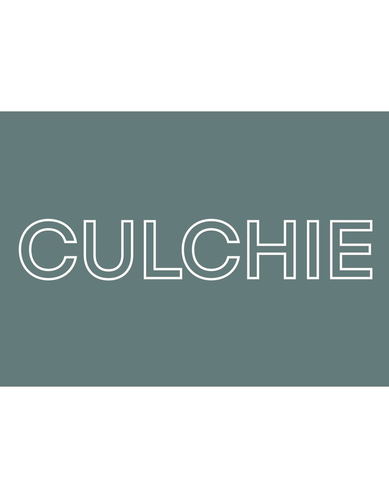 My Shop Collection Culchie A3 Print- Green