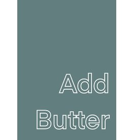 My Shop Collection Add Butter A3 Print - Green